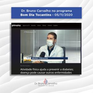 Dr Bruno Carvalho, vascular no G1